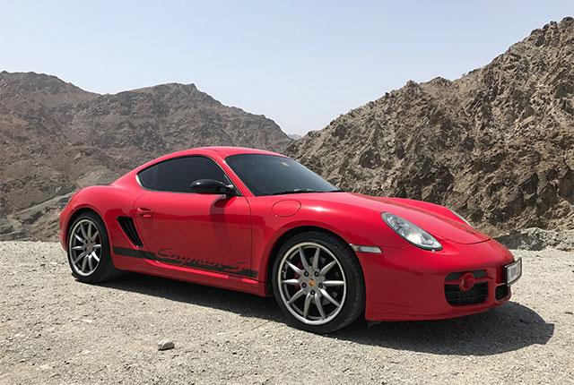 PORSCHE CAYMAN S-Porsche 911 GT3 RS