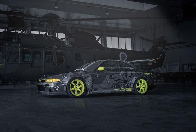 Nissan Silvia 200 SX S14 DRIFTCAR